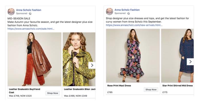 Anna Scholz - Facebook Ads