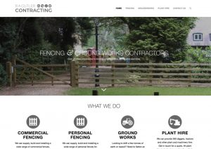 Contractor Site - Web Design