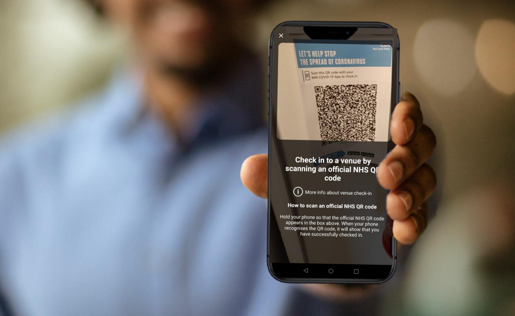 NHS QR Code Scan App