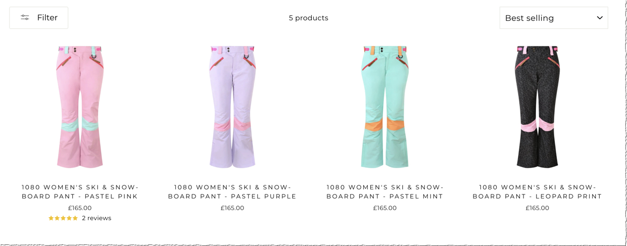 Cross Link Individual Products In Shopify