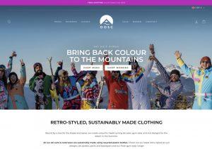 OOSC Clothing Website Design